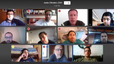 Photo of Primera Junta de Oficiales Virtual de Compañía